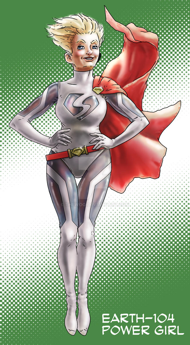 Power Girl by Thewog