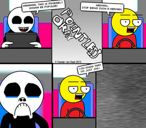 Pointless Comic 9 by zerodecoole