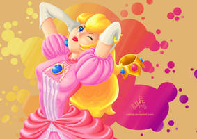 Princess Peach by Calibal