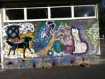 Floofy Graffiti Wall