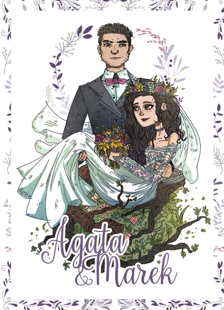 Wedding Invitation by dziwnym