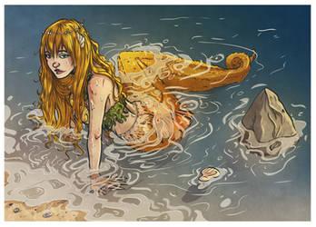 Commission: mermaid