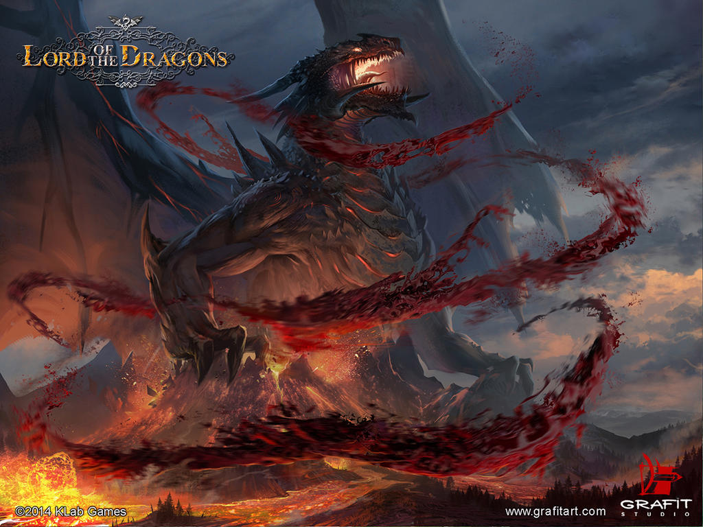 Top Wallpaper Lord Dragon - lord_of_the_dragons_by_grafit_art-d7yvoy1  Photograph_319253.jpg
