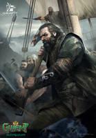 Dimun Pirate Captain by Grafit-art
