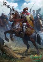 Dun Banner Heavy Cavalry by Grafit-art