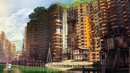 3D environment concept by Grafit-art