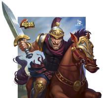 Bronze Cavalry Commander by Grafit-art