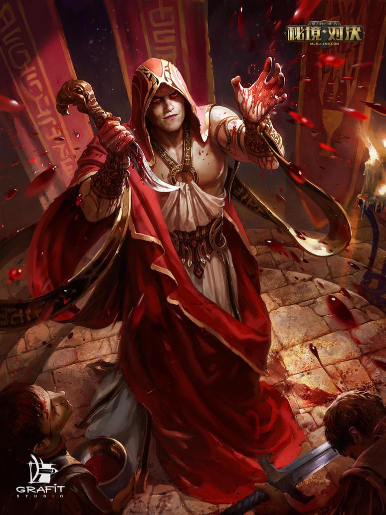 Bloody Bishop by Grafit-art