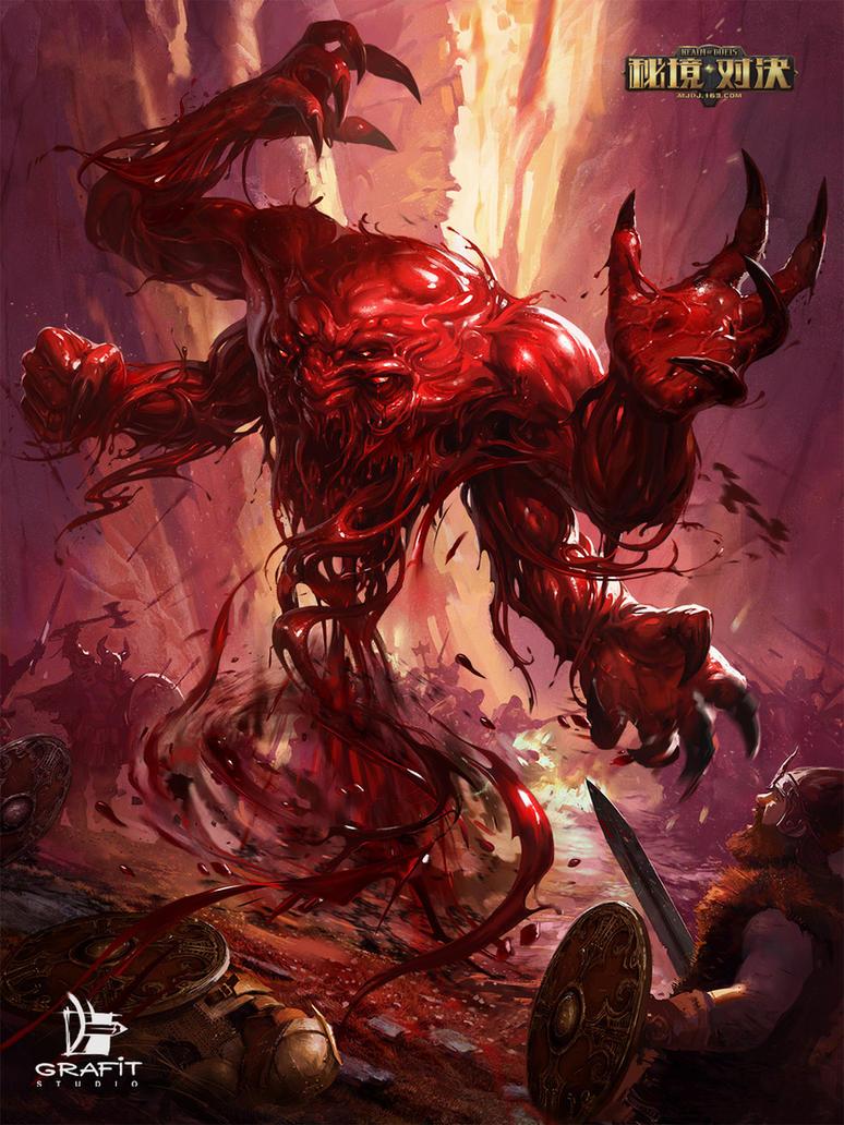 Bloody Mystic by Grafit-art