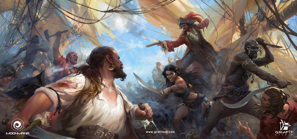 Ultimate Pirates by Grafit-art