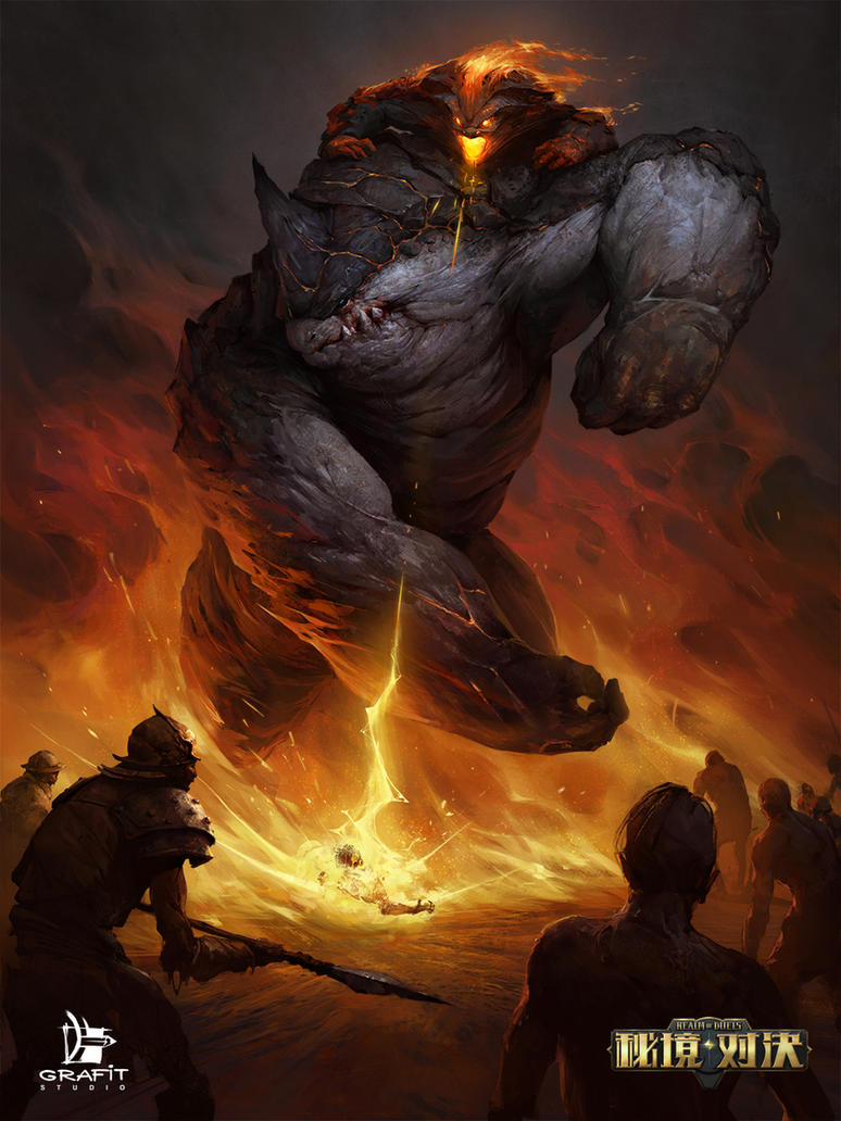 Timaha The Progen Of The Fire by Grafit-art