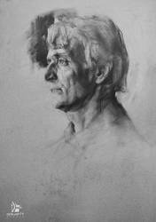 Portrait of a Man (+TUTORIAL) by Grafit-art