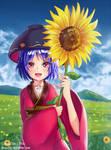 Shinmyoumaru and Sunflower