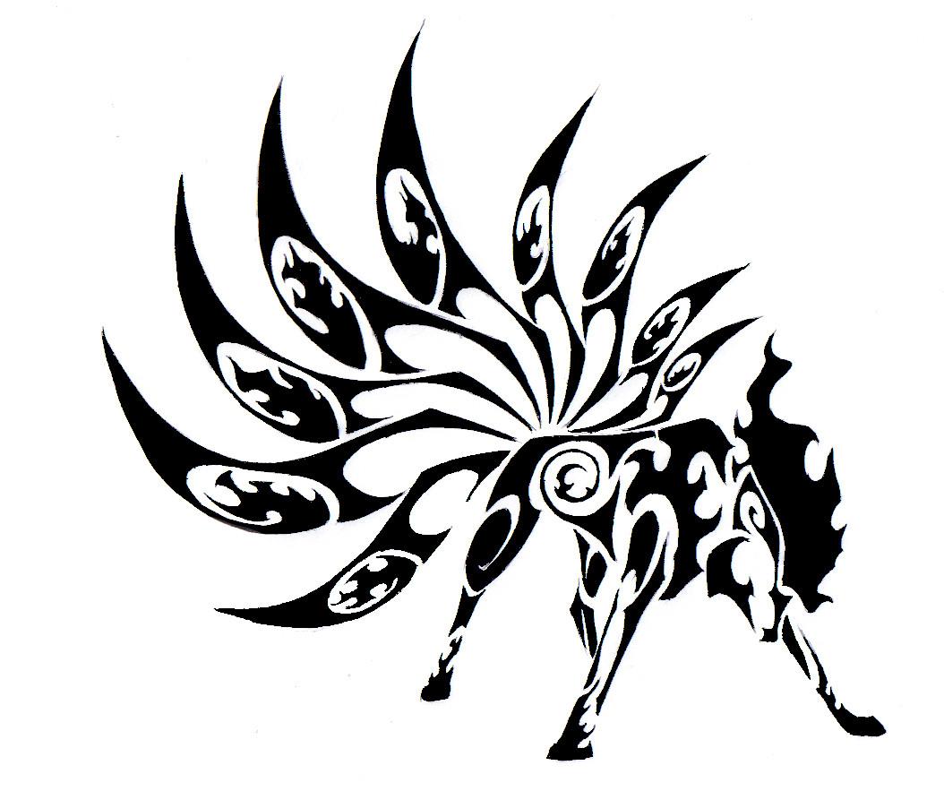 Galerie de Draco  Ninetales_Tribal_Tattoo_by_Canyx