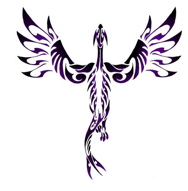 Lugia Tribal Tattoo by Canyx