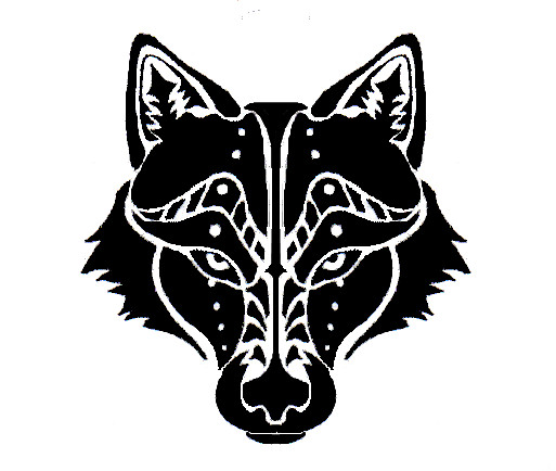 Tribal Wolf Wallpaper: Wolf Head Tribal Tattoo By Canyx On DeviantArt