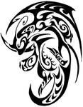 Dragonite Tribal Tattoo