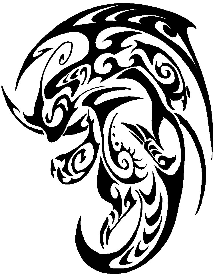 Dragonite Tribal Tattoo by Canyx on DeviantArt