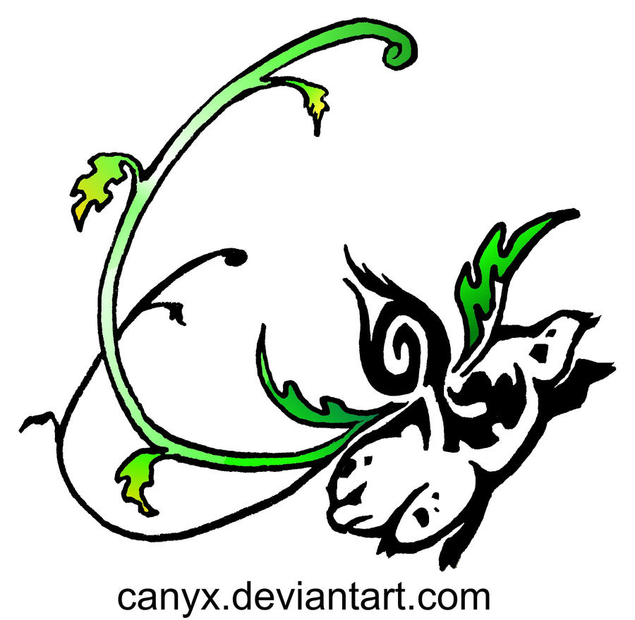 Ivysaur Tribal by Canyx