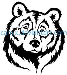 Bear head COMMISSION