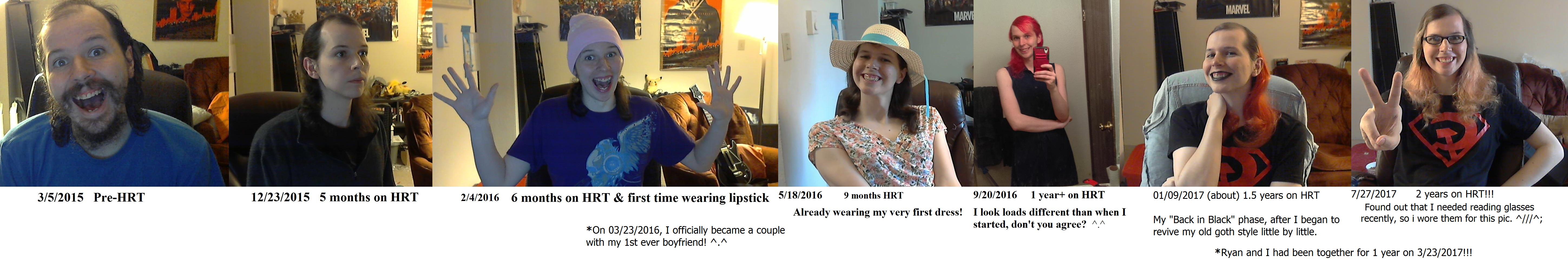 timeline update 2 years of being on hrt by dottir of loki on deviantart