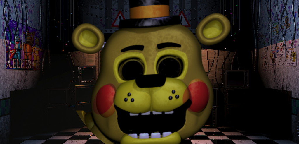 Golden Toy Freddy Jumpscare NO GIF By NachoTheDorito