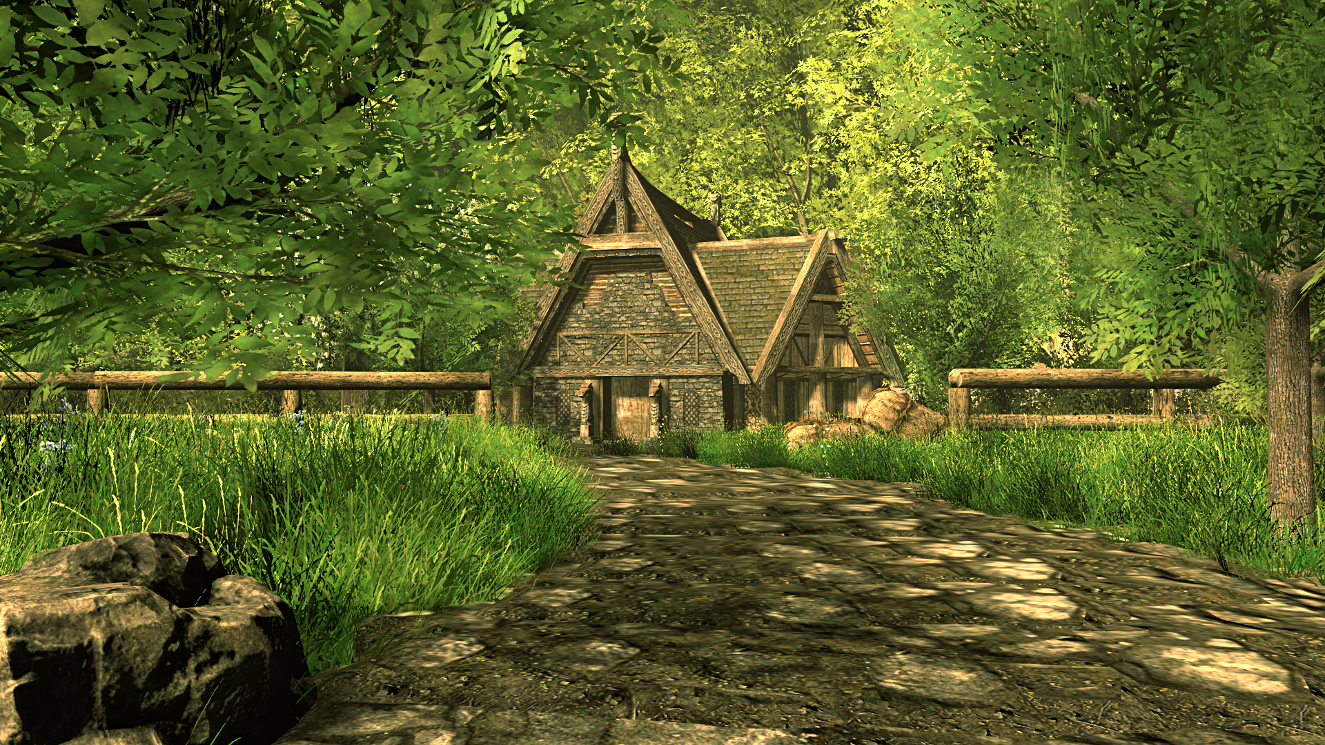 House in the woods sfm by thefunnykep on deviantart - The house in the woods ...