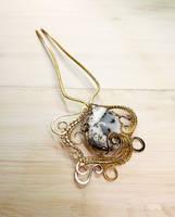 Winter hair pin by OlgaMryga