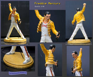 Freddie Mercury by ChronosDiox