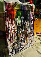 Melting of ze crayons