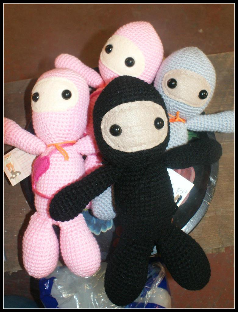 Ninjas!!! by SecondHandCaravan