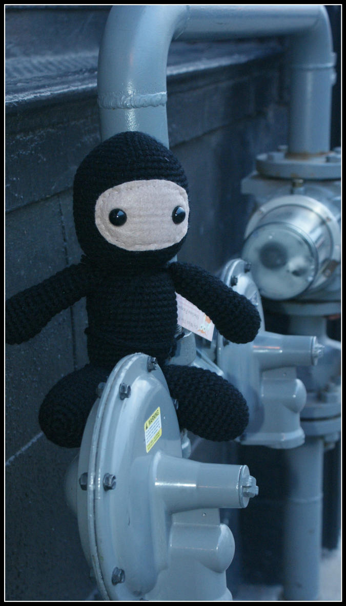 Stealthy Ninja by SecondHandCaravan