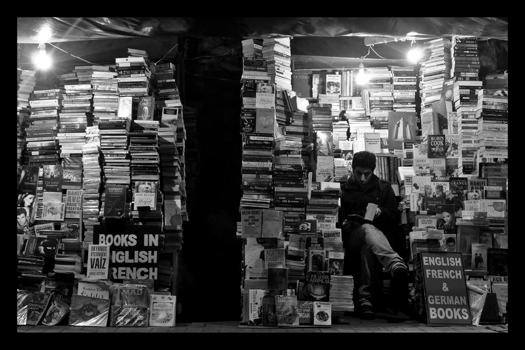 Bookshelf by fahrenheitlab