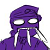 F2U Purple Guy (Vincent) icon by xSaturated-Sunrisex