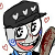 Mike Kawaii Icon F2U chat emoticon. by xSaturated-Sunrisex
