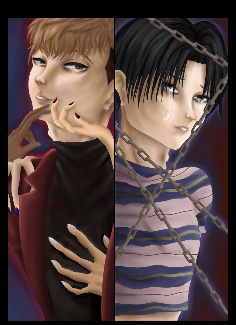 Killing Stalking: Yoon Bum and Oh Sangwoo by BubbleQuee on DeviantArt