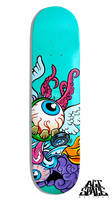 Fierce Skateboard by diazartist
