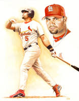 Albert Pujols by diazartist