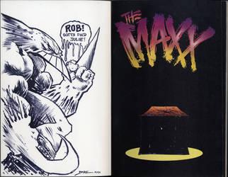 Fan Art of The Maxx by diazartist