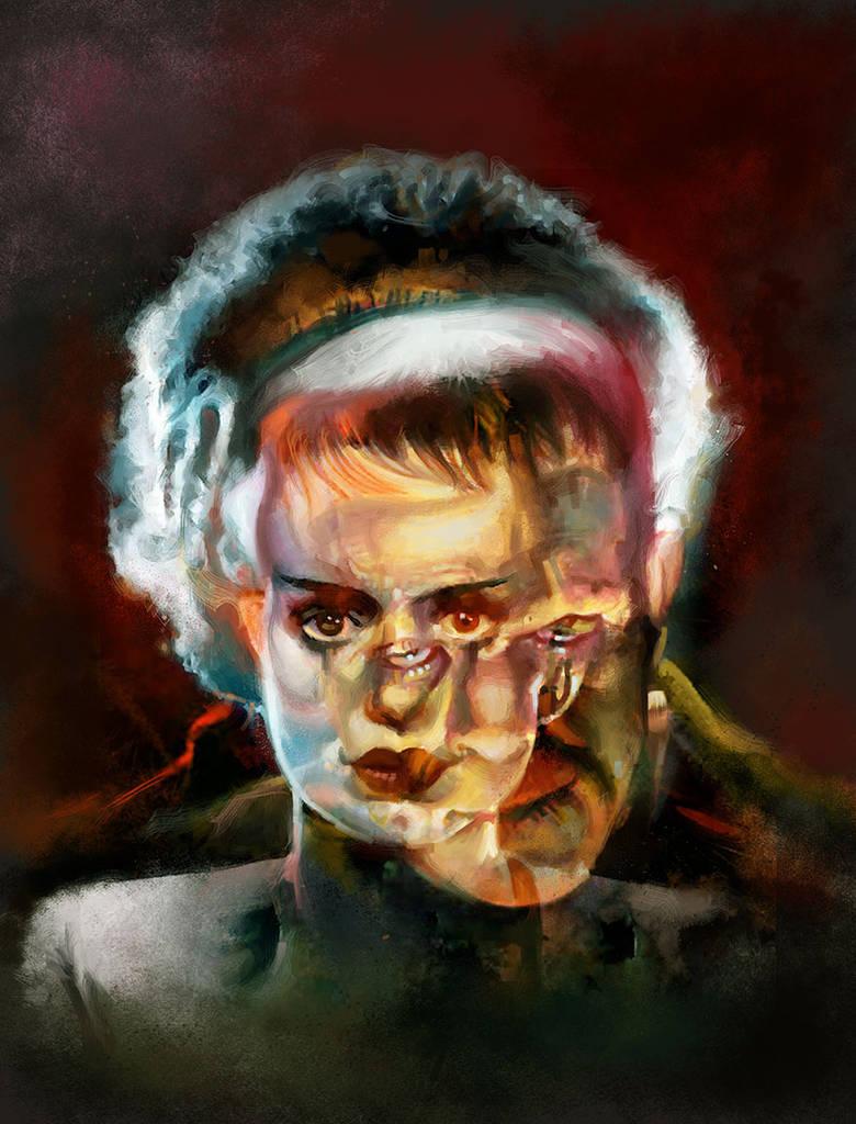 The Bride vs Frankenstein (Creatura 10) by diazartist