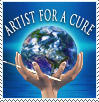 Artists for a Cure Support Stamp