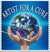 Artists for a Cure Support Stamp by ArtistsforaCure