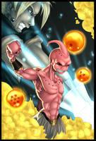 Dragon Ball Z fanart by Fred-H