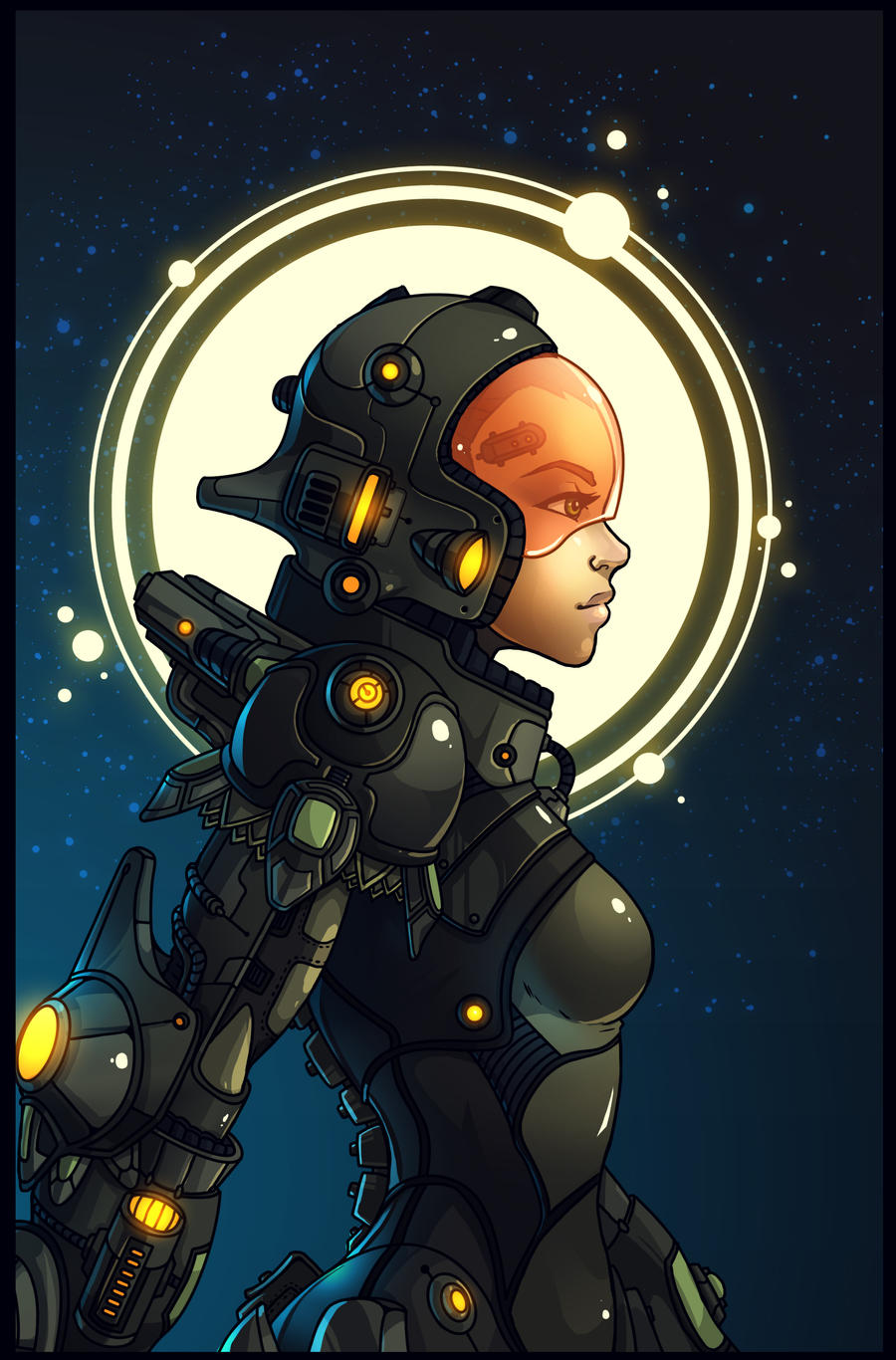 Spacesuit by Fred-H