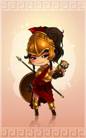 Chibbi Gods : ATHENA by Fred-H