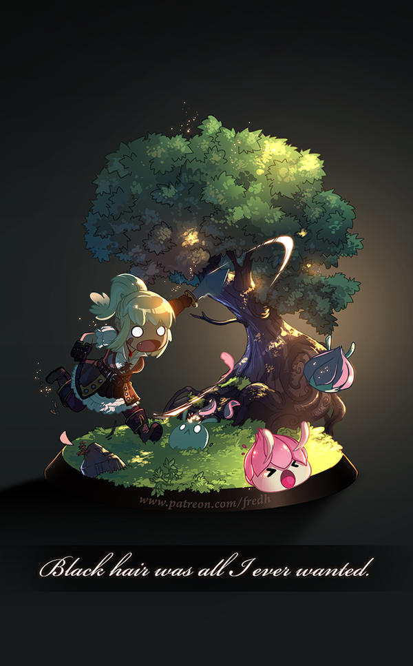 Tree of savior - diorama by Fred-H