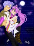 Chibi Moon Drunk with Trunks 2 by EnchantedRevelation