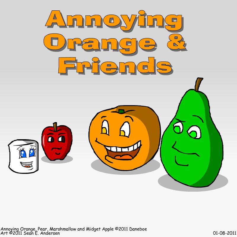 Annoying Orange Knife Theme Song Annoying Orange by