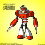 Mega Man 3 - Sparkman