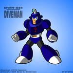 Mega Man 4 - Diveman